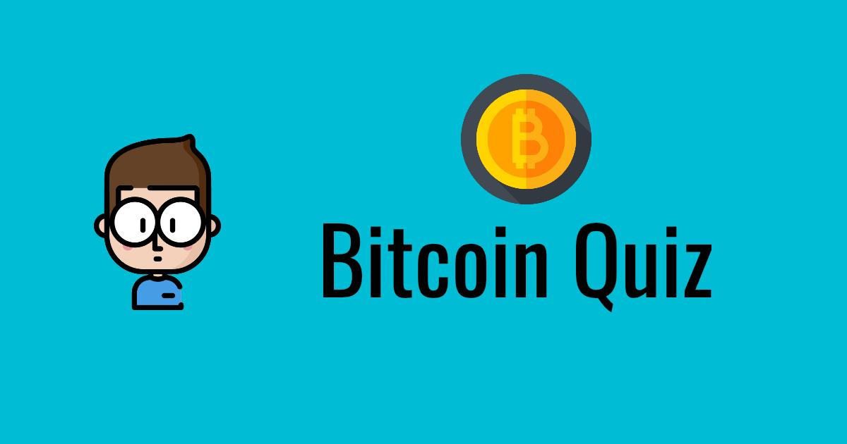 Bitcoin-Quiz